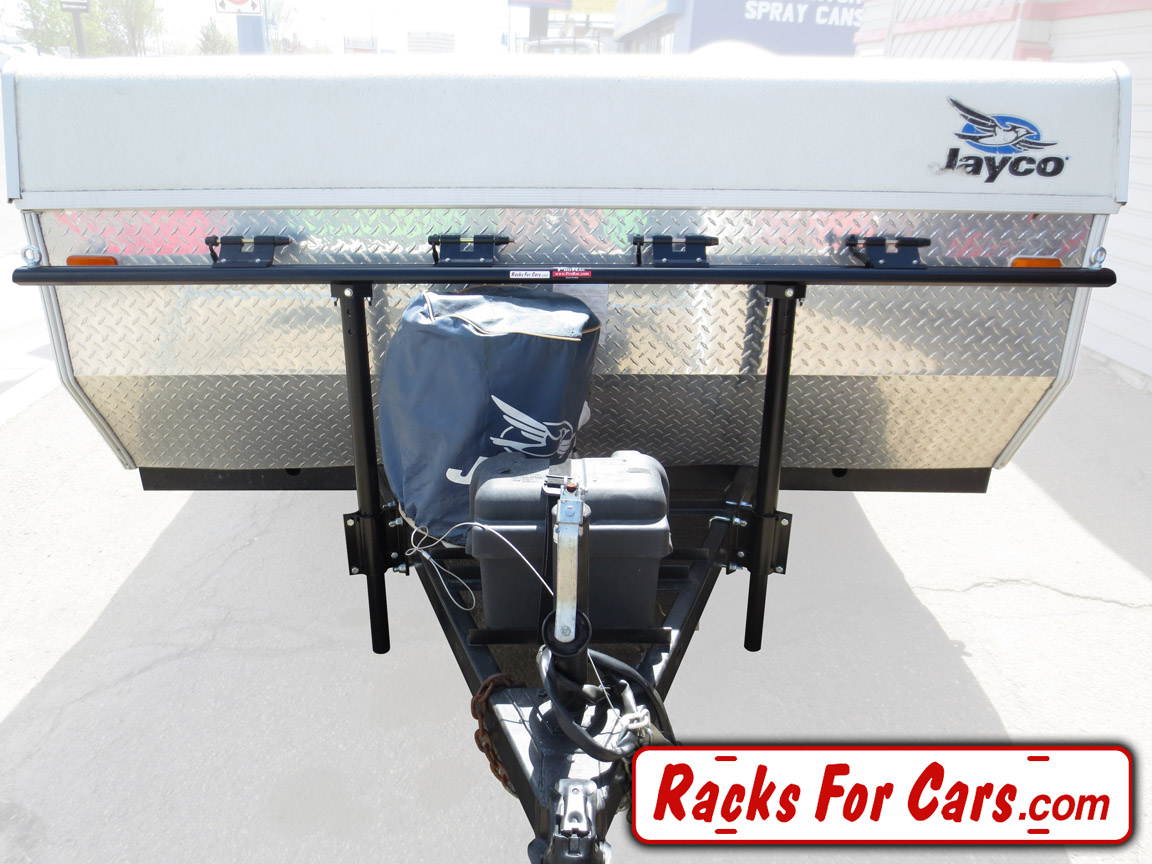ProRac Proformance Tent Trailer Racks carry 2, 4, or 6 bikes