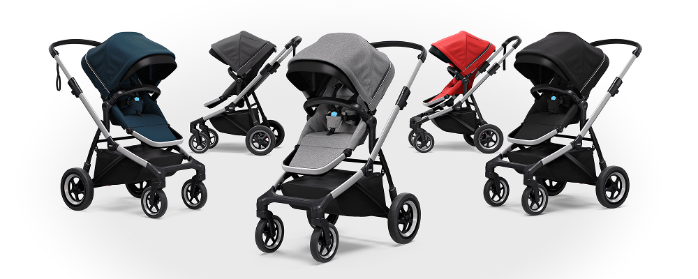 Thule Sleek Stroller available in five colors