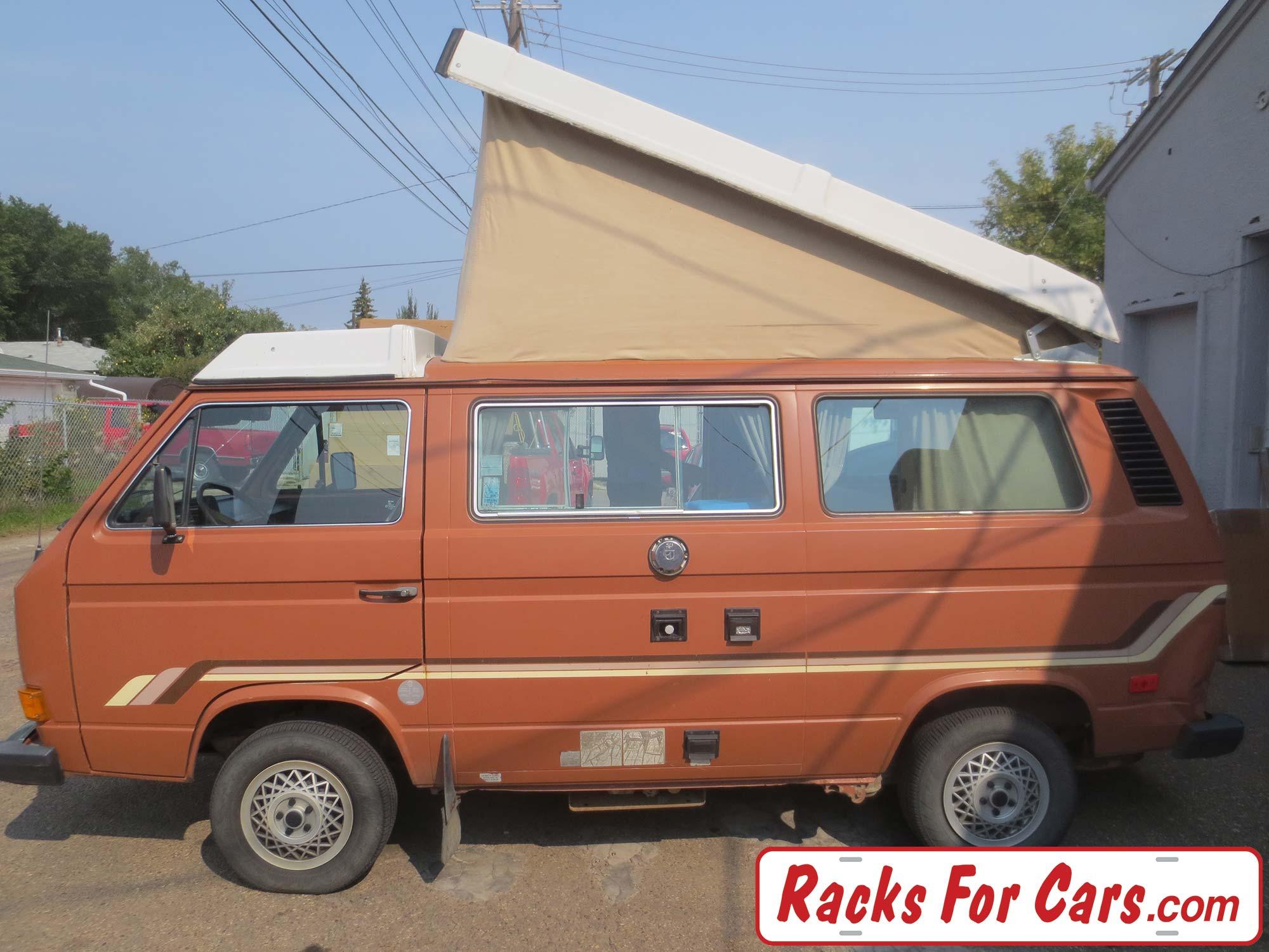VW Vanagon Westfalia with Thule 300 roof rack - Racks For Cars
