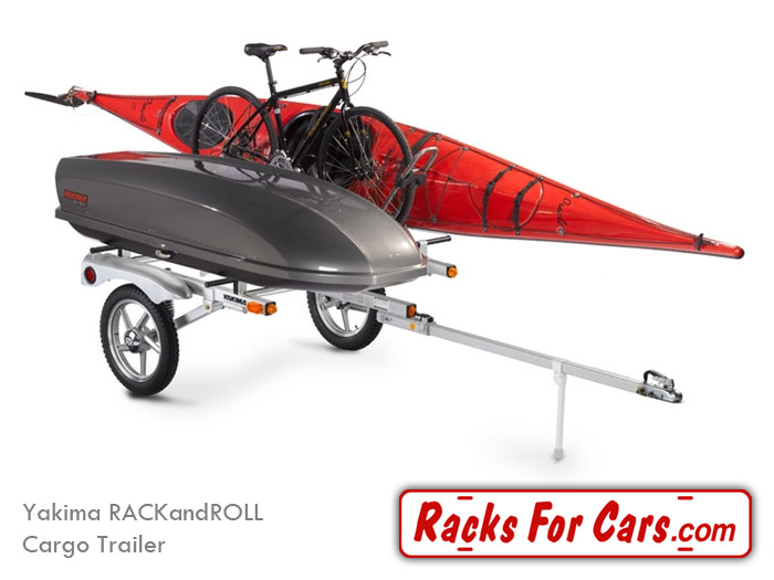 Yakima RACKandROLL Trailers carry all of your gear behind your ride on ...