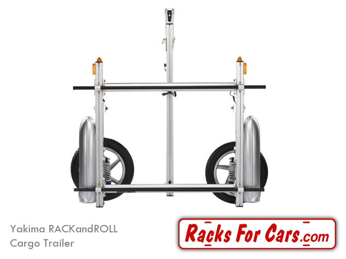 yakima rackandroll trailers carry all of your gear behind your ride on a light