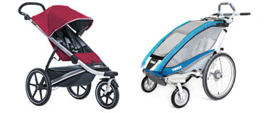 Child Transportation - Thule Chariot child carriers and Active With Kids