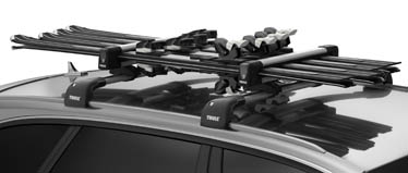 Thule ski and snowboard carriers