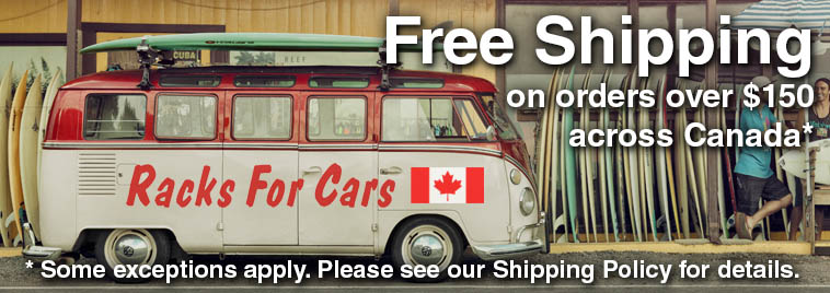 Free Shipping across Canada on orders $150 and over, see our shipping policy for details