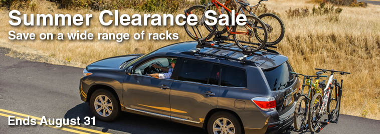 Summer clearance sale at Racks For Cars