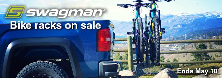 Swagman bike racks on sale this week